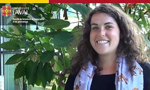 Arielle Frenette <br/> étudiante en géographie
